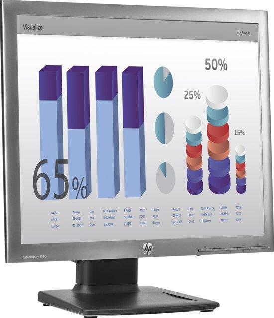 HP E190i 18.9'' LED Mat Zilver computer monitor