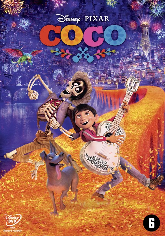 DVD cover van Coco