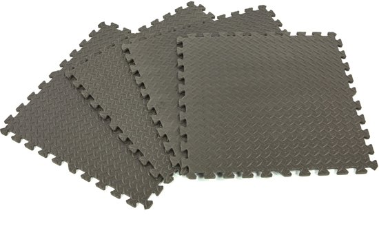 4 Delige Foam Vloertegel Set voor Vloerbescherming