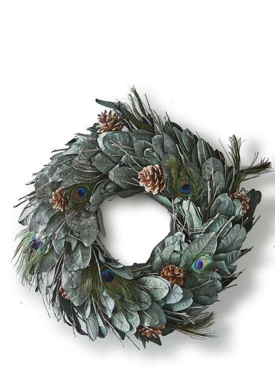 Ongekend bol.com   Riviera Maison - Precious Peacock Wreath 50cm - Krans PC-13