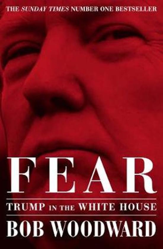 Boek cover Fear van Bob Woodward (Paperback)