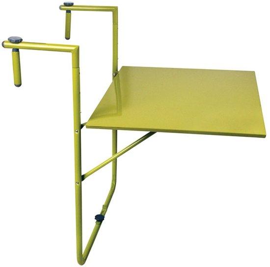 inklapbare balkontafel groen. Black Bedroom Furniture Sets. Home Design Ideas