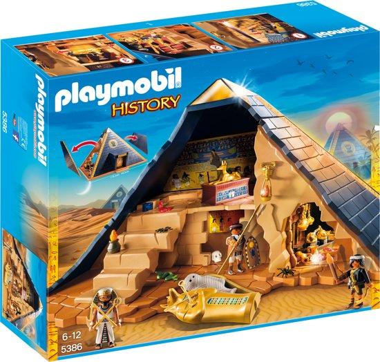 playmobil pyramide van de farao 5386 playmobil. Black Bedroom Furniture Sets. Home Design Ideas