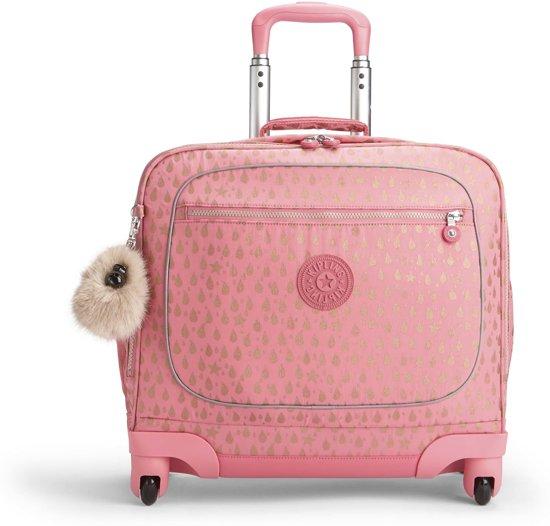 8a7ca8eb115 bol.com   Kipling Manary Laptop Trolley - Pink Gold Drop