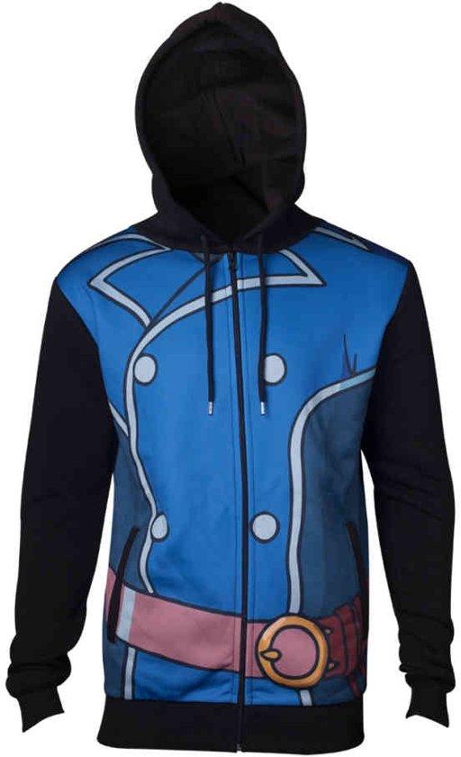 Heren Hoodie Vest.Bol Com Ni No Kuni 2 Roland Heren Hoodie Vest Met Capuchon Blauw