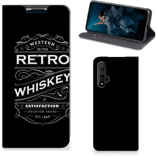 Honor 20 Flip Style Cover Whiskey