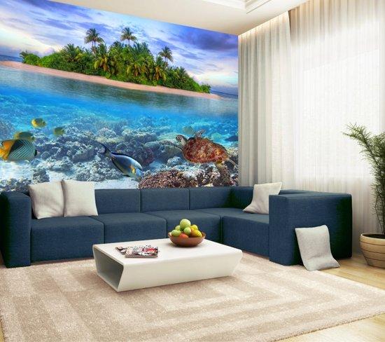 Fotobehang, Muurposter, Malediven 350 x 260 cm. Art. 97025