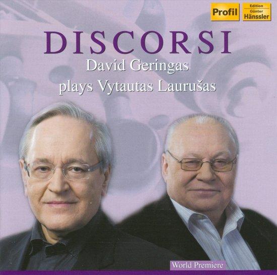 Discorsi: Geringas Plays Laurusas 1-Cd