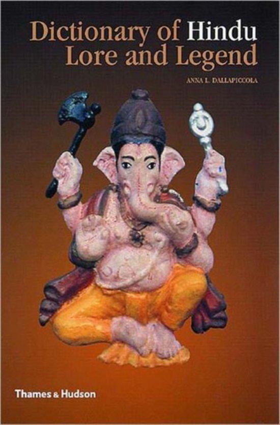 Bol Dictionary Of Hindu Lore And Legend Anna L Dallapiccola