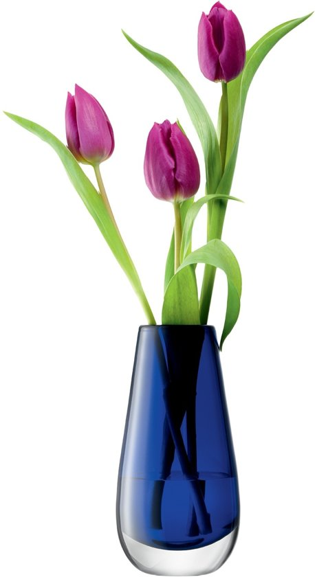 L.S.A. Flower Colour Vaas Bud - Rond - 14 cm - Donker Blauw