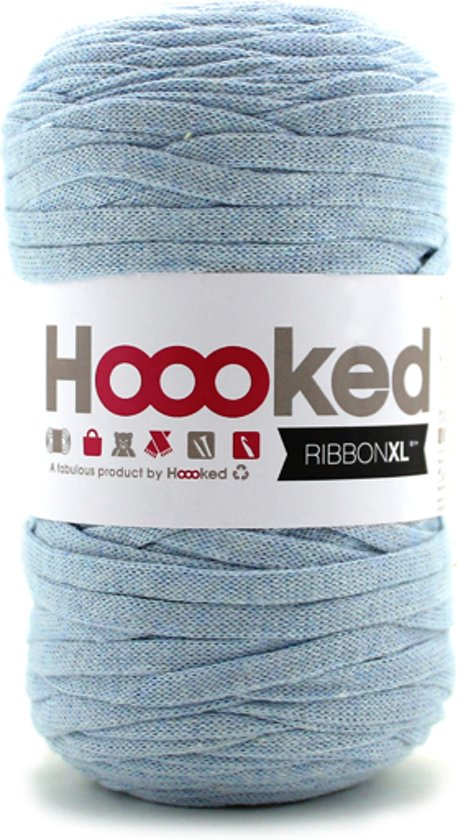 Bolcom Hoooked Ribbonxl Powder Blue Hoooked Speelgoed