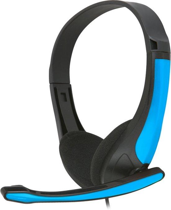 Cover van de game Freestyle Hi-Fi Stereo Koptelefoon + Microfoon Fh4088O Blauw/Zwart