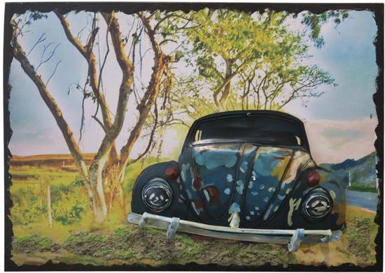 Bol schilderij wanddecoratie volkswagen vw kever d