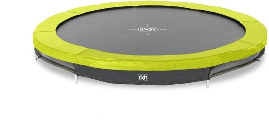 EXIT Silhouette inground trampoline ø244cm - groen