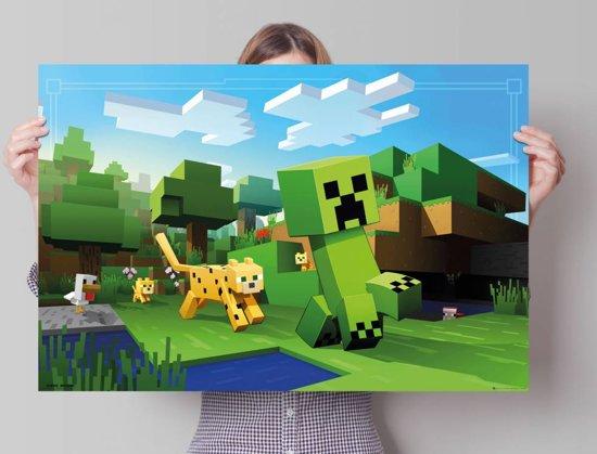 minecraft poster 915 x 61 cm