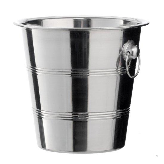 Champagnekoeler - RVS - 21 x 22 cm - 4 Liter