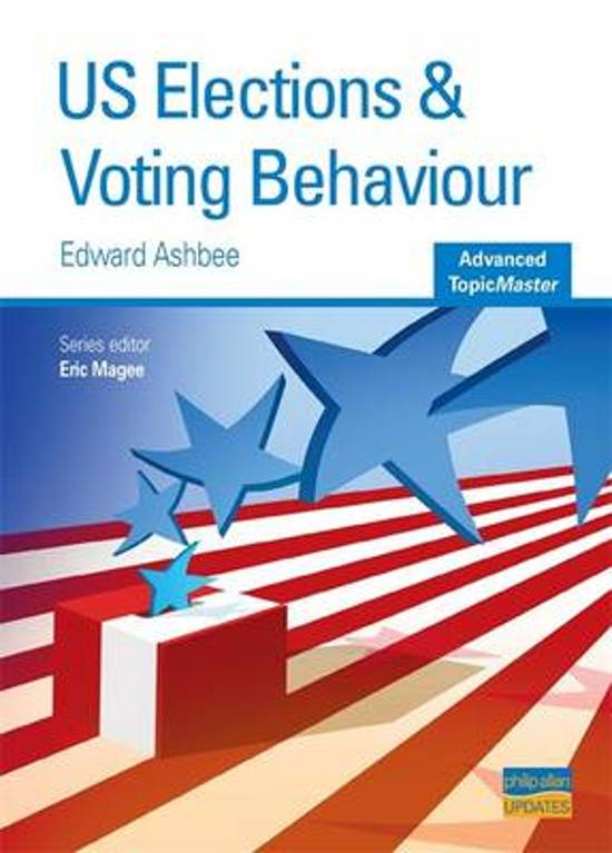 US Elections and Voting Behaviour
