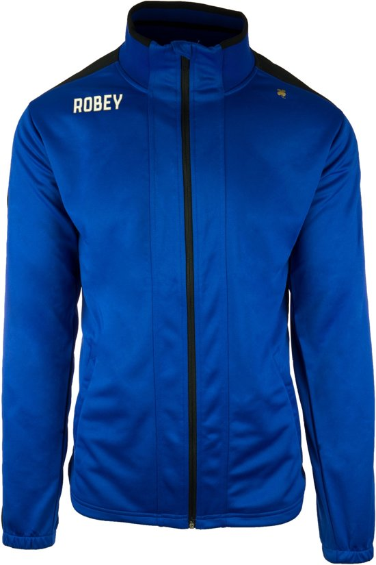 Robey Trainingsjack - Voetbaljas - Royal Blue/Black - Maat XXXL