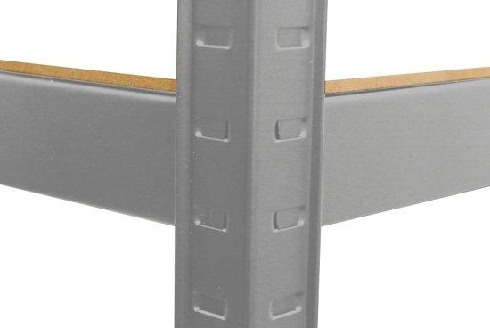 Wandplank 90 Cm Breed.Opbergrek Basis 90 Cm Breed 875 Kg Draagkracht 175 Kg Per Plank Monteren Zonder Schroeven