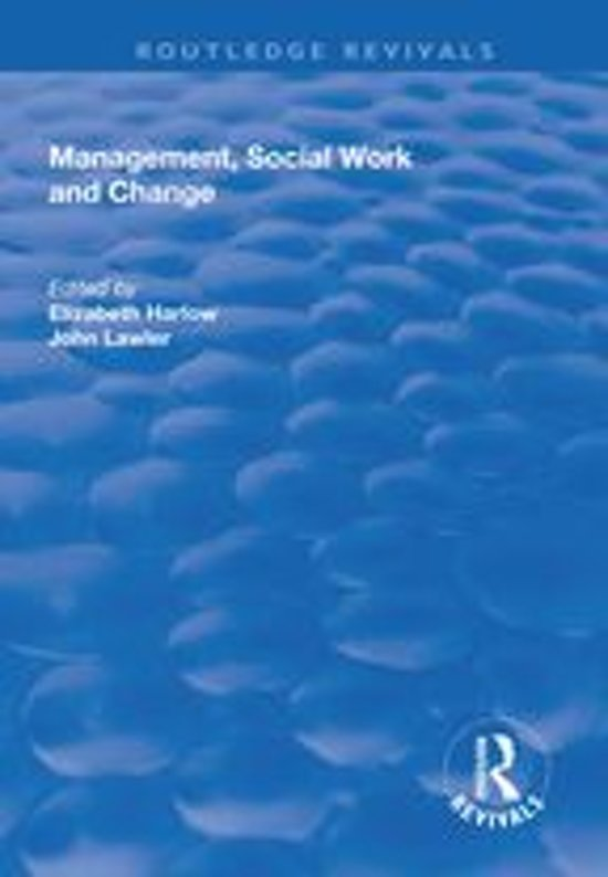 Management, Social Work and Change
