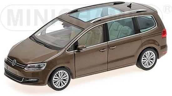 Volkswagen Sharan 2010 1:18 Minichamps Bruin 110 051001