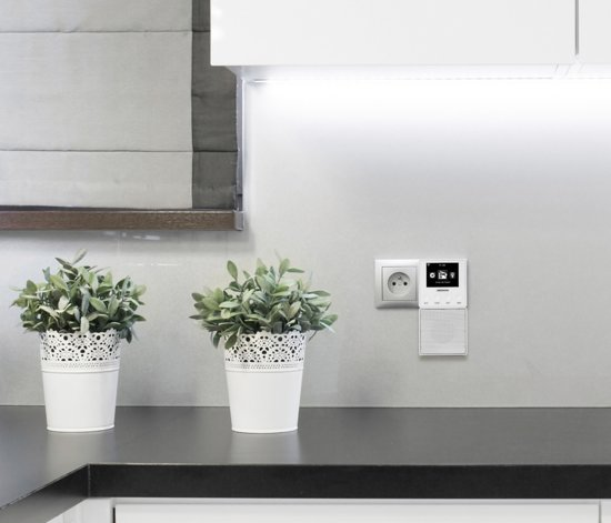 MEDION® LIFE E85032 Stekker Internet Radio & Bluetooth Speaker (wit)