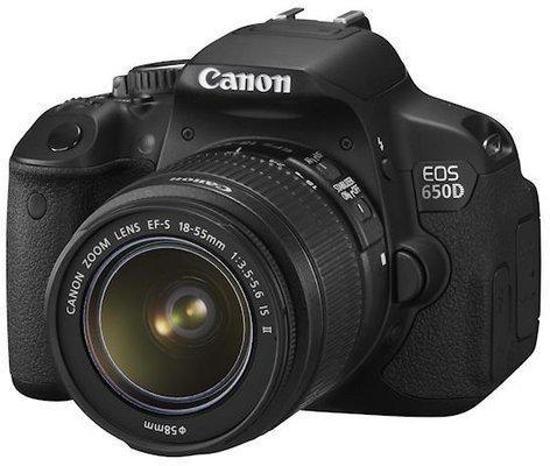 Canon EOS 650D + EF-S 18-55IS II