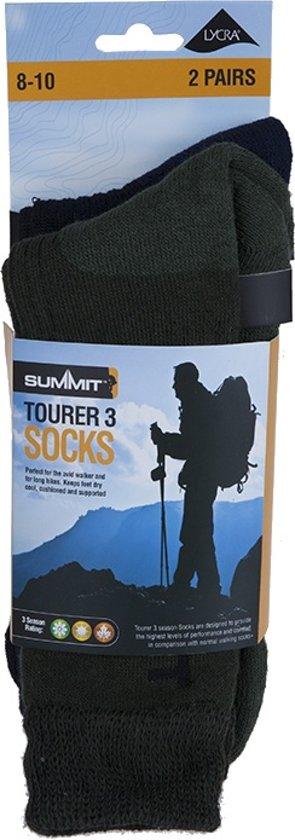 Summit 8 Wandelsokken groen 10 Twee Unisex Maat Paar 44 Blauw 42 rrqUPa7