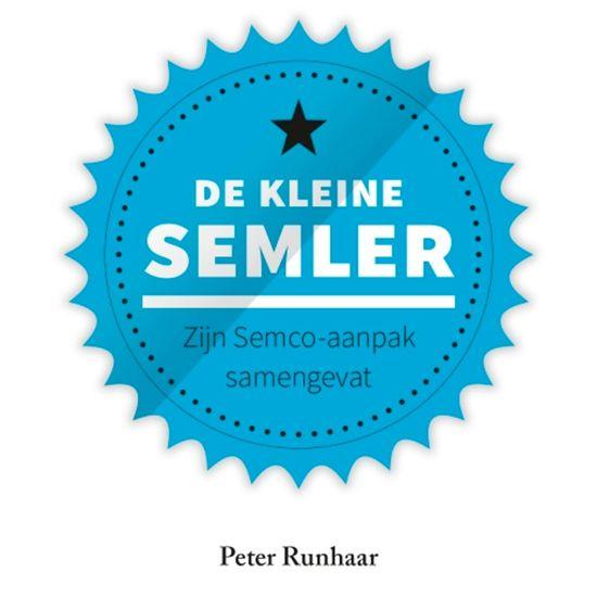 Boek cover Kleine boekjes - De kleine Semler van Peter Runhaar (Onbekend)