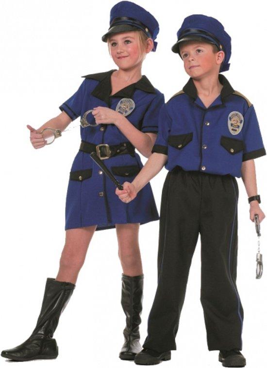 Meisjes politie kostuum 128
