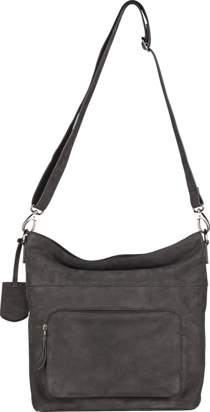 BURKELY Mono Maddy Cross Body Schoudertas Black 531924