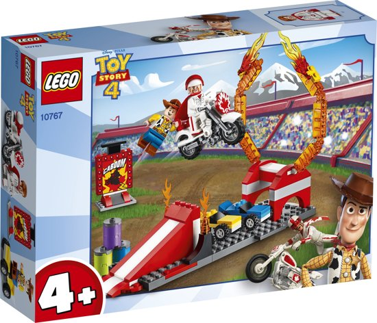 Afbeelding van LEGO 4+ Toy Story 4 Graaf Kaboems Stuntshow - 10767 speelgoed