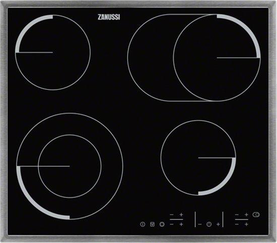 Zanussi ZEV6646XBA - Inbouw keramische kookplaat