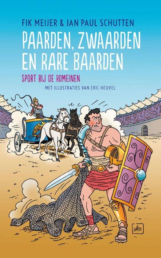 Boek cover Paarden, zwaarden en rare baarden van Fik Meijer (Hardcover)