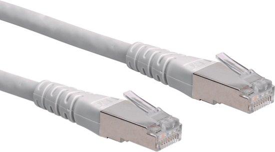 ROLINE S/FTP (PiMF) patchkabel Cat.6, grijs