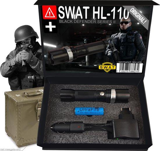 SWAT Zaklamp HL-110 (2e Generatie) - Defender Series II