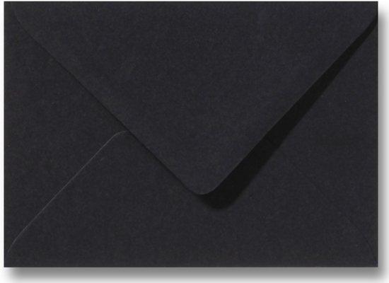 Envelop 15,6 x 22 cm Zwart 100 stuks