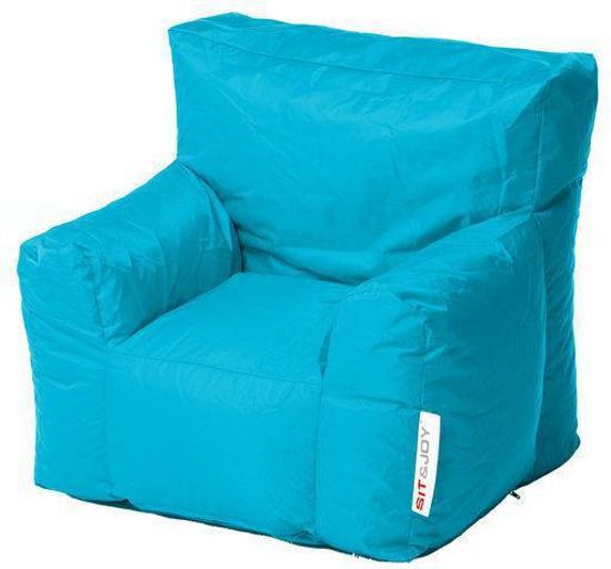 Zitzak Sit En Joy Blauw.Bol Com Sit And Joy Chair Junior Zitzak Blauw