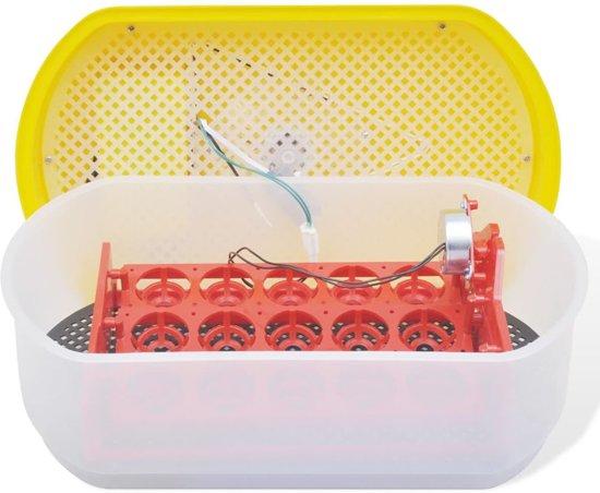 VidaXL Broedmachine Automatisch - 15 Kippeneieren