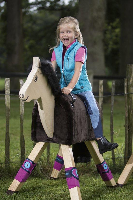 HKM Rijbroek -Princess denim- Alos knievlakken jeansblauw 98