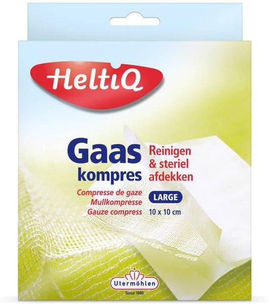 Heltiq Gaaskompres 10X10Cm