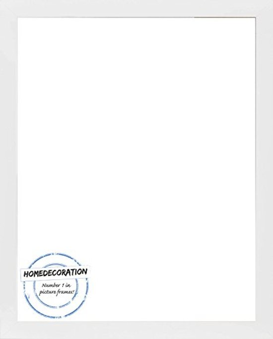 Homedecoration Misano – Fotolijst – Fotomaat – 43 x 91 cm  – Wit mat