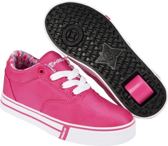Chaussures À Roulettes Heelys - Chaussures De Sport - Enfants - Taille 35 - Noir, Rose