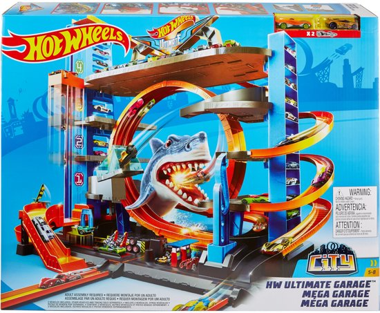 Hot Wheels Action Ultieme Garage - Speelgoedgarage