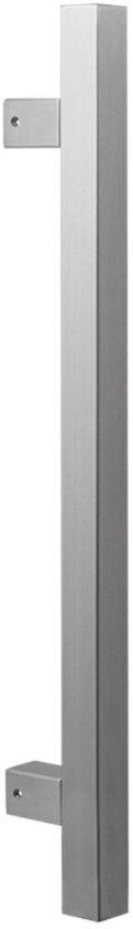 GPF3606.09 deurgreep GPF10 RVS geborsteld vierkant 22x600/400mm hoogte 55mm