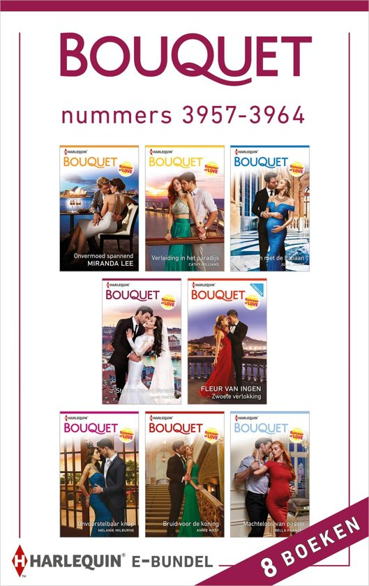 Bouquet e-bundel nummers 3957 - 3964