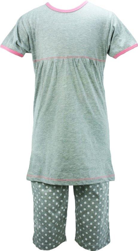 AnnaRebella Meisjes Pyjama Grijs PYM24023A Maten: 140
