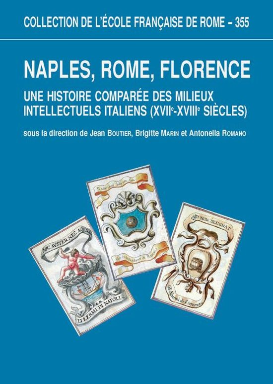 Boek cover Naples, Rome, Florence van _ Collectif (Onbekend)