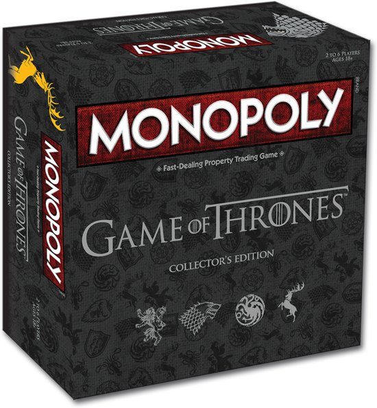 Monopoly Game of Thrones (Collector's Edition)