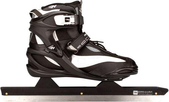 nieuwe producten het winkelen nieuw kopen Nijdam Norenschaats Semi Softboot Pro Line - Schaatsen - Unisex - Zwart -  Maat 41